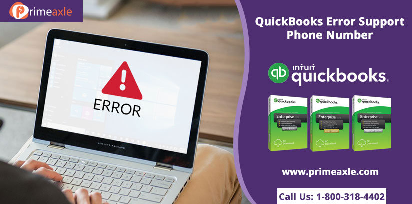 quickbooks error support phone number
