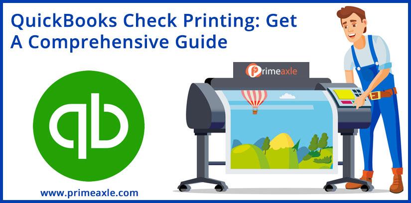 quickbooks check printing