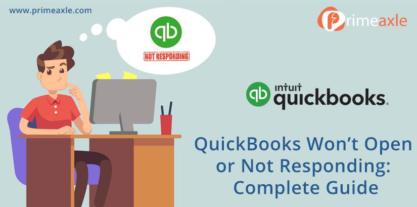 quickbooks wont open