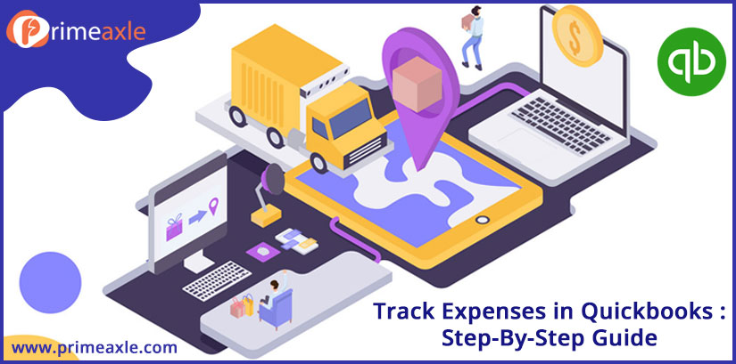 track expenses in quickbooks