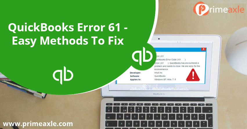 quickbooks error 61