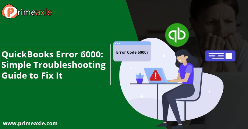 quickbooks error 6000