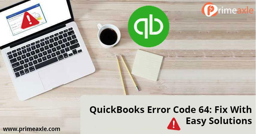 quickbooks error code 64