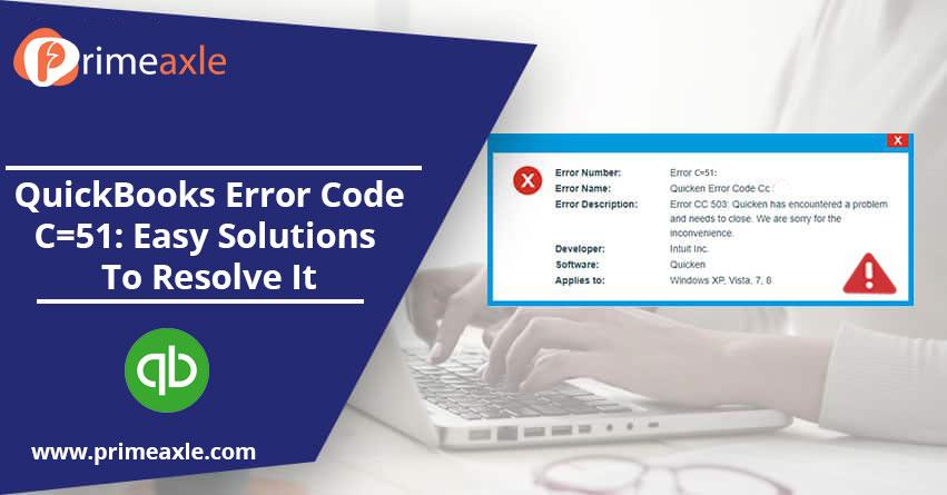 quickbooks error code c=51