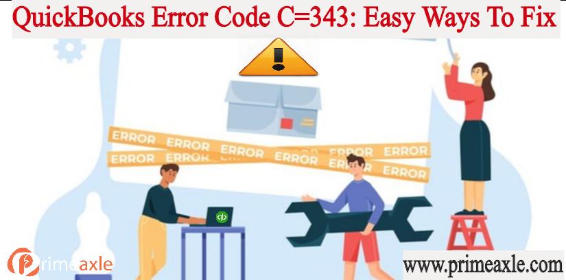 quickbooks error code c343