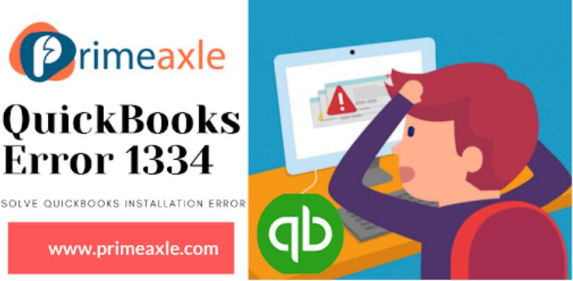 QuickBooks Error1334