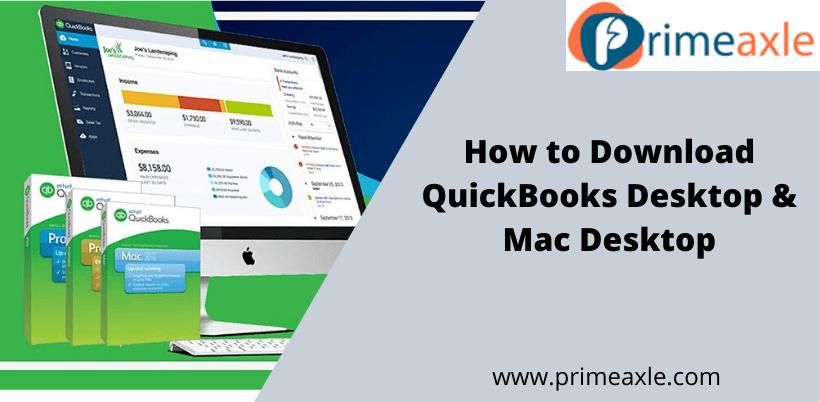 QuickBooks Desktop Download & Mac Desktop