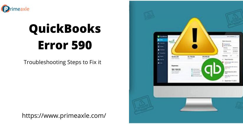 QuickBooks error 590